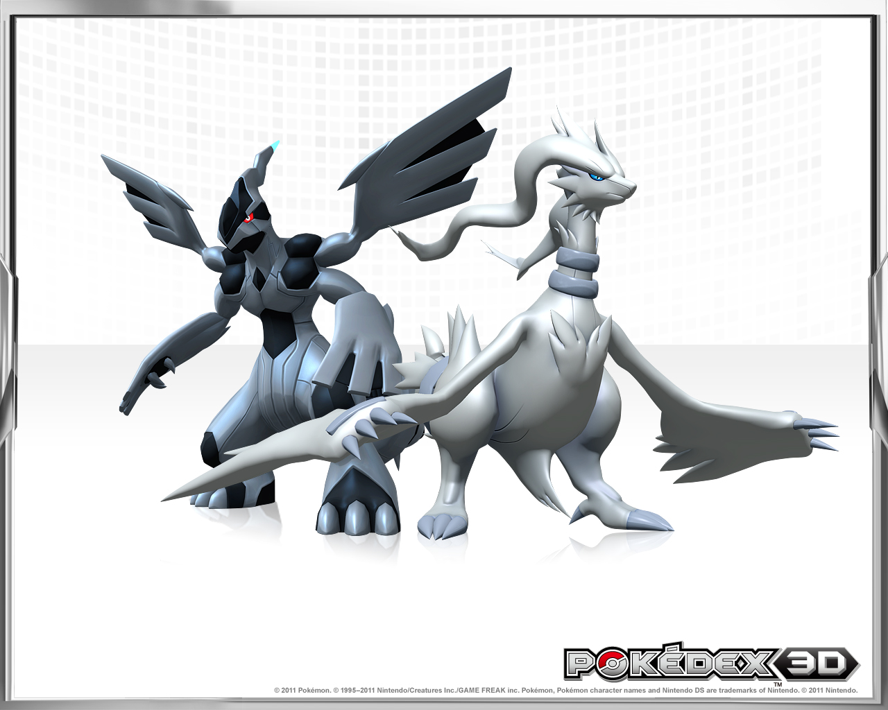 Pokedex 3D Legendary Pokemon Wallpaper