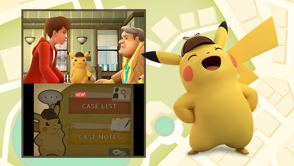 Detective Pikachu Is on the Case!