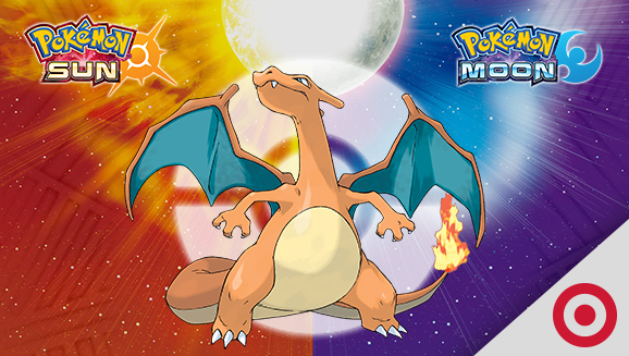 Charizard Roars at Target Stores