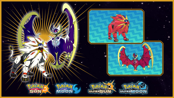Discover Shiny Lunala or Shiny Solgaleo at GameStop