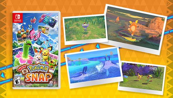 New Pokémon Snap Has Arrived on Nintendo Switch
