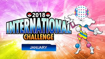 Register Now for the 2018 International Challenge January