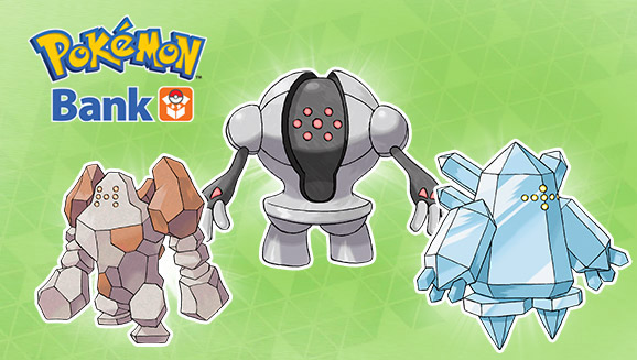 Deposit Three Solid Pokémon with Pokémon Bank!