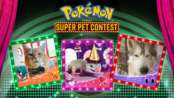 Make Hiss-tory with the Pokémon Presents Super Pet Contest