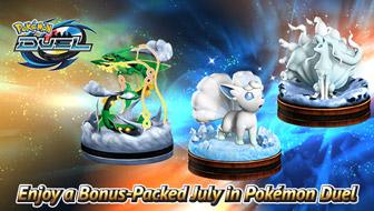 Enjoy a Bonus-Packed July in Pokémon Duel