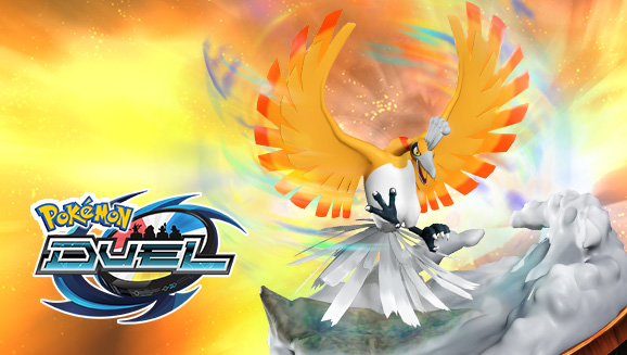 Shiny Ho-Oh Heats Up November in Pokémon Duel
