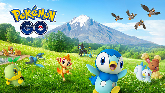 Pokémon GO's Sinnoh Celebration Features Sinnoh Region Pokémon