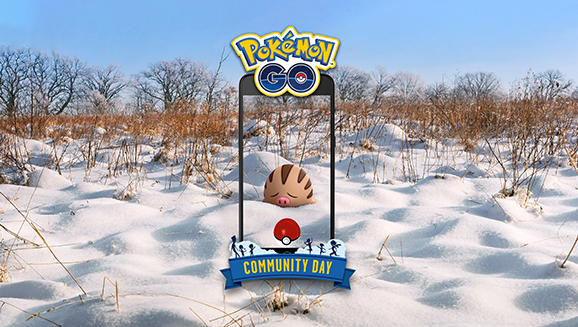 Swinub Stars in a Mammoth February Community Day
