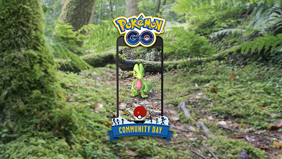 Track Treecko During March Community Day