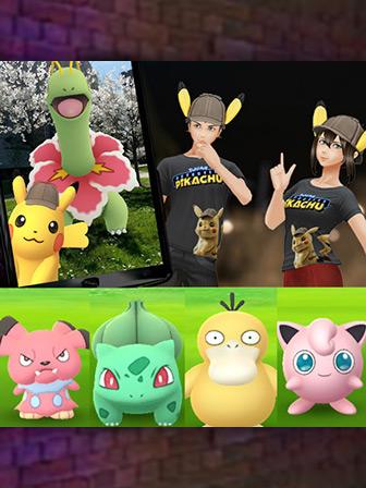 Detective Pikachu Sleuths into Pokémon GO