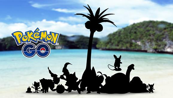 "Say ""Alola"" to PokémonGO!"