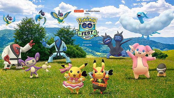 Pokémon GO Fest 2021 Will Rock Hard