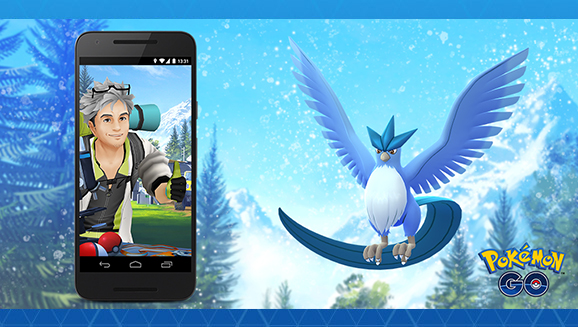 Conduct Water-type Research in PokémonGO