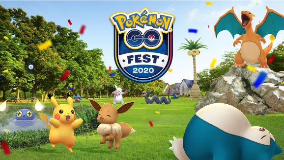 Get Ready for Pokémon GO Fest 2020