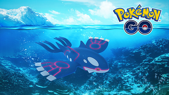 Kyogre Rises Again in Pokémon GO Raids