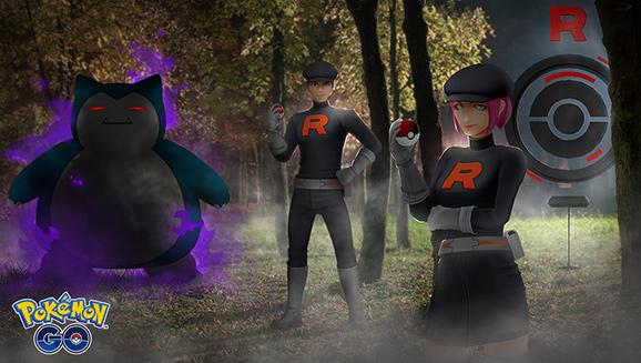 Team GO Rocket Invades Pokémon GO