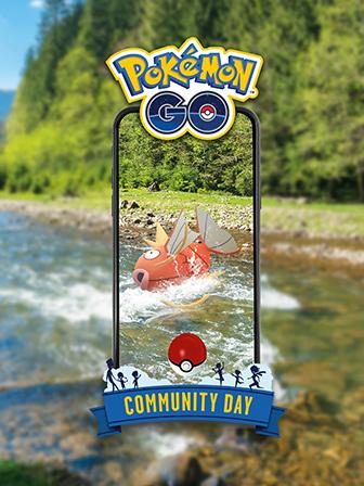 Magikarp Swims into Community Day