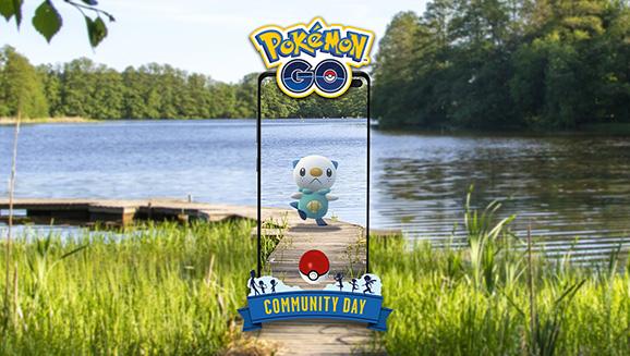 Shell-abrate Oshawott for This September's Pokémon GO Community Day