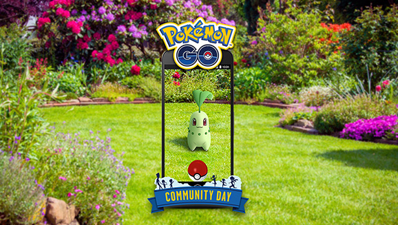 Collect Choice Chikorita During Community Day!