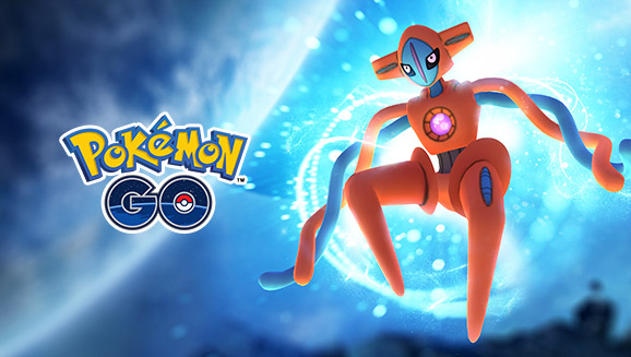 Deoxys Approaches in EX Raids!