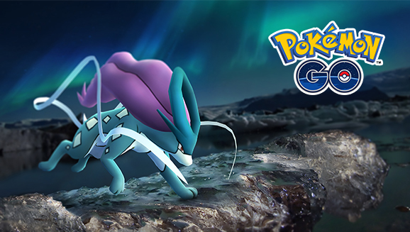 Snag Suicune with October Field Research
