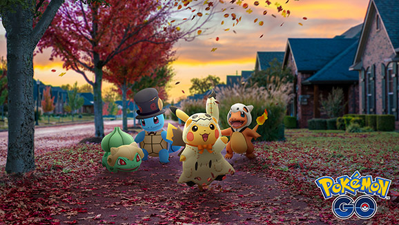 Halloween Excitement in Pokémon GO