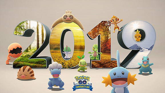 Celebrate 2019 with a Community Day Event