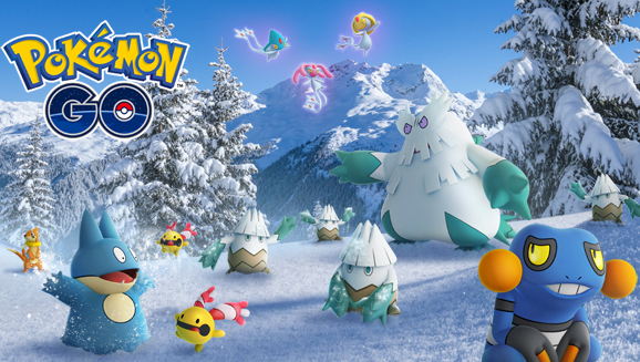 Winter Wonders in Pokémon GO