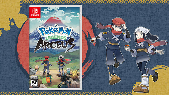 Pokémon Legends: Arceus Arrives for Nintendo Switch on January 28, 2022