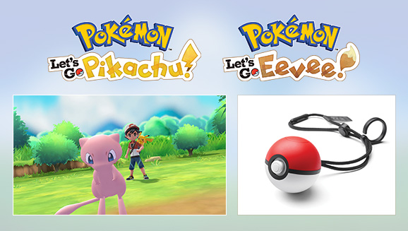 Find Mew in the Poké Ball Plus!