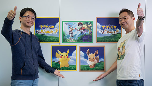 Meet the Makers of <em>Pokémon: Let's Go, Pikachu!</em> and <em>Pokémon: Let's Go, Eevee!</em>