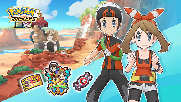 Join Team Hoenn in Pokémon Masters EX
