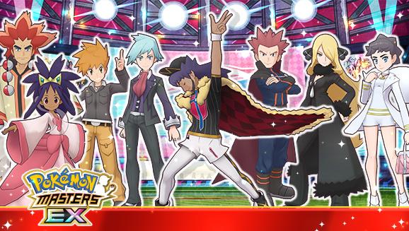 Leon & Charizard Blaze into Pokémon Masters EX