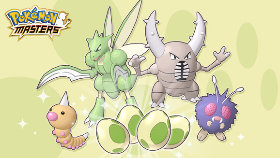 Hatch Some Bug Types in Pokémon Masters