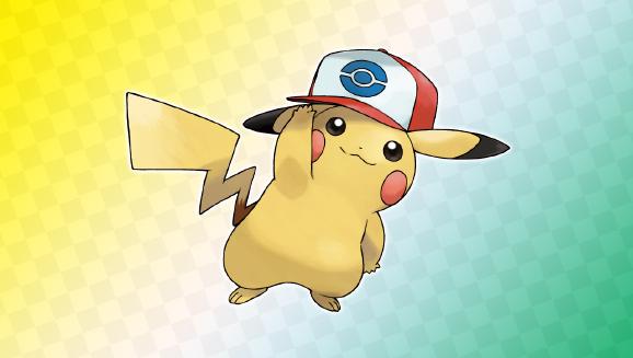 Be Bold with Unova Cap Pikachu