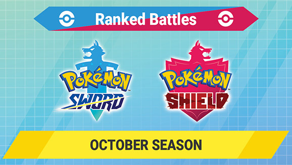 Compete in the Pokémon Sword and Pokémon Shield Ranked Battles October Season