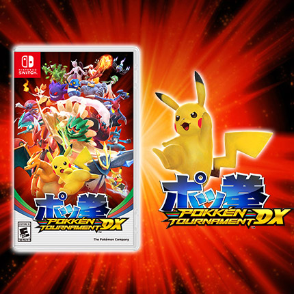 The Pokkén Tournament DX Update Has Arrived