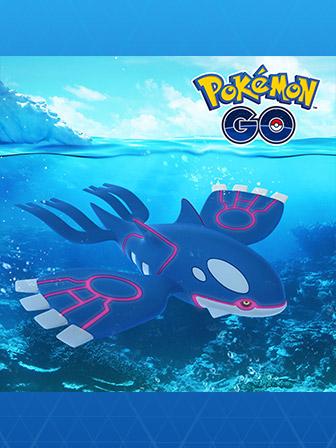 Set Sail for Kyogre in Pokémon GO