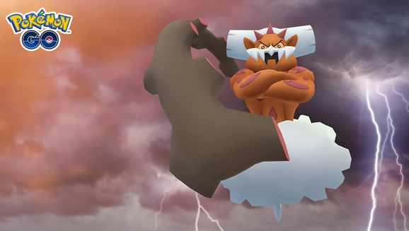 Clash with Landorus in Pokémon GO Raids