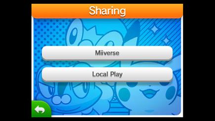 "Select ""Miiverse."""