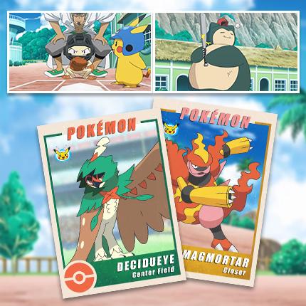 Root, Root, Root for Pokémon Baseball!