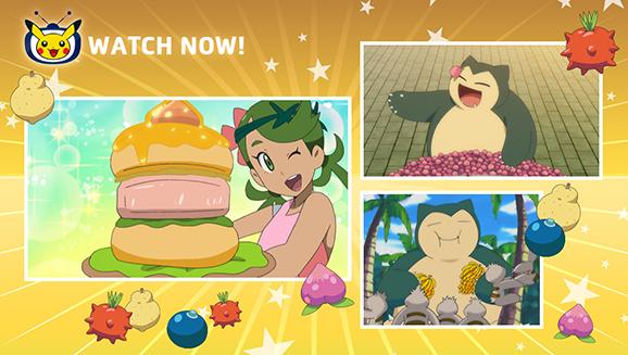 Feast on Pokémon the Series on Pokémon TV