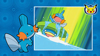 Mudkip Makes a Splash on Pokémon TV