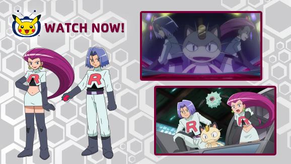 Team Rocket Troubles Unova on Pokémon TV