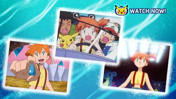 Celebrate Misty's Memorable Moments on Pokémon TV