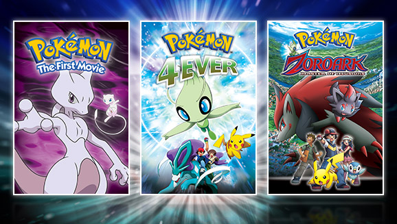 Watch a Trio of Movies on Pokémon TV!