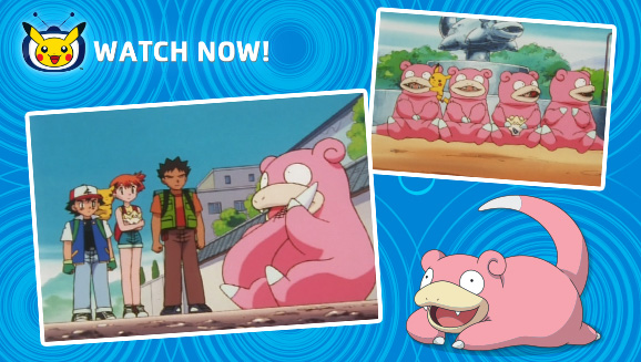 Slowpoke Chills Out on Pokémon TV