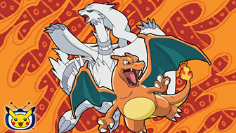 Reshiram and Charizard Light Up Pokémon TV