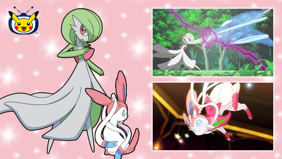 Gardevoir and Sylveon Sweeten Up Pokémon TV