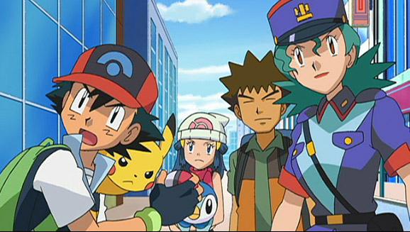 Afslutning af en rejse gennem Sinnoh regionen på Pokémon TV